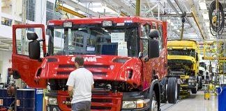 Scania, fabrica