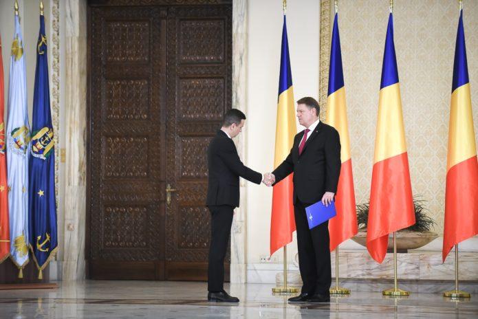 Premierul Sorin Grindeanu și președintele Klaus Iohannis